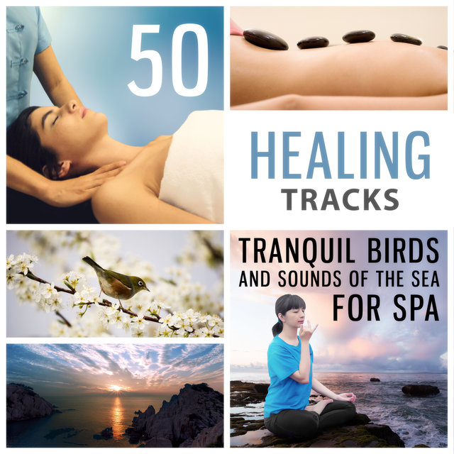 50 Healing Tracks: Tranquil Birds and Sounds of the Sea for Spa & Massage, Instrumental Background Music to De-Stress, Inner Peace, Awakening (Yoga Meditation)