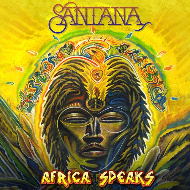Cover art for album Africa Speaks by Santana