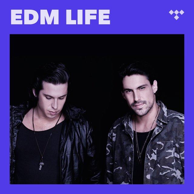 Cover art for album EDM Life by TIDAL