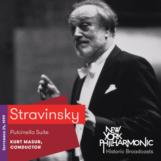 Stravinsky: Pulcinella Suite (Recorded 1999)
