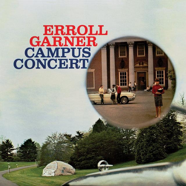 Cover art for album Campus Concert (Octave Remastered Series) by Erroll Garner