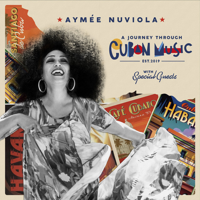 Cover art for album A Journey Through Cuban Music by Aymee Nuviola