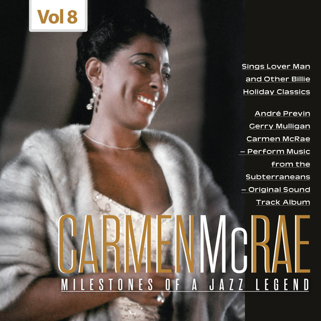 Milestones of a Jazz Legend - Carmen McRae, Vol. 8