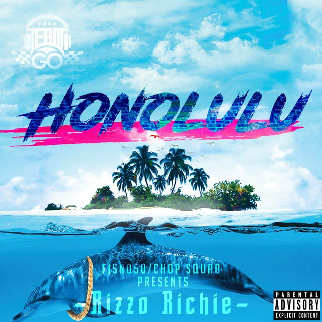 Cover art for album Honolulu by Rizzo Richie