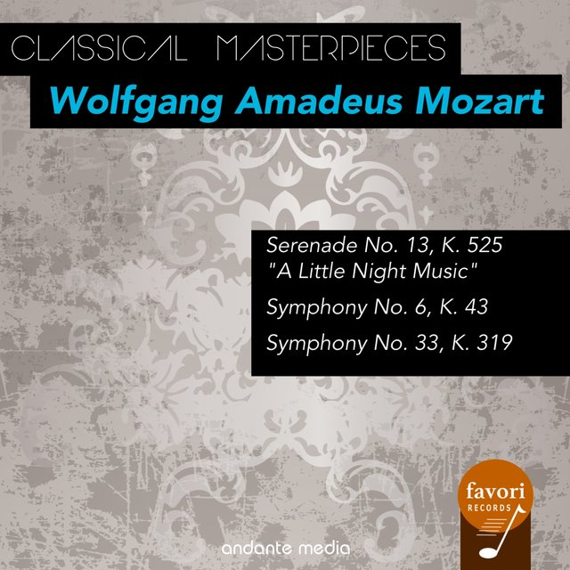 Classical Masterpieces - Wolfgang Amadeus Mozart with