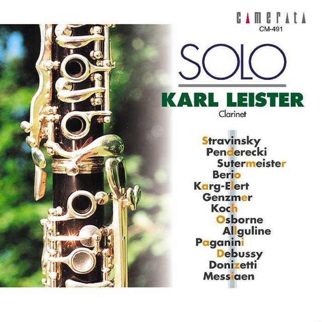 Karl Leister: Solo