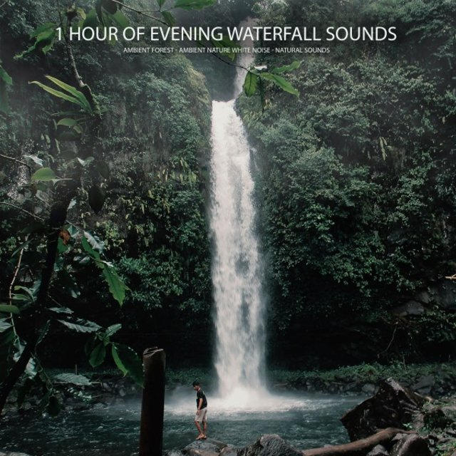 1 Hour of Evening Waterfall Sounds