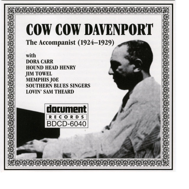 Cow Cow Davenport - The Accompanist (1924-1929)
