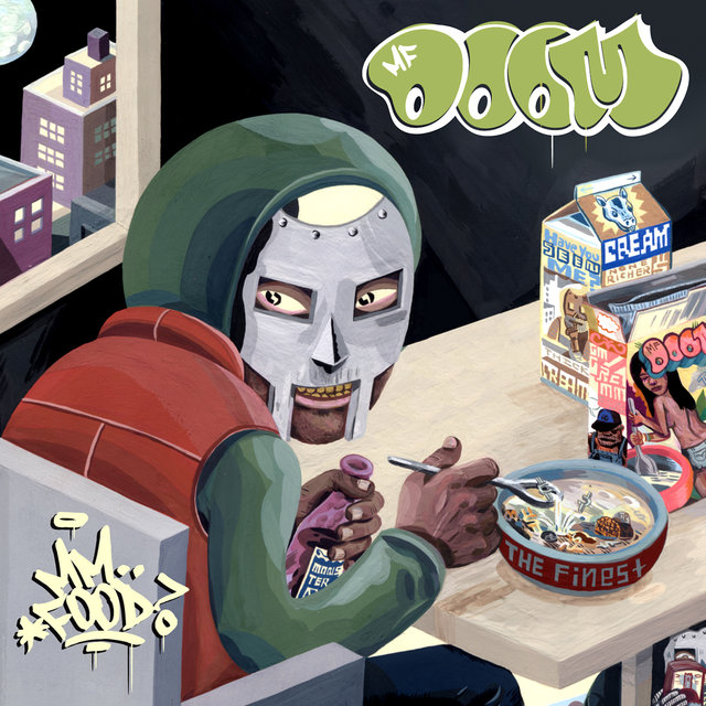 Cover art for album MM...FOOD by MF DOOM