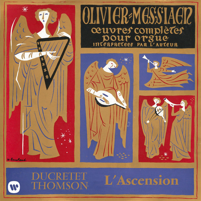 Messiaen: Le banquet céleste, Diptyque, Apparition de l'Église éternelle & L'Ascension (À l'orgue de la Sainte-Trinité de Paris)