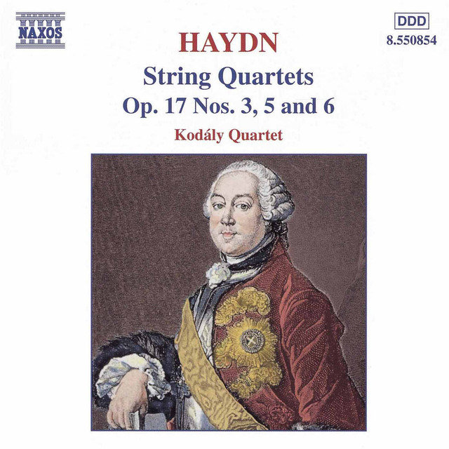 Haydn: String Quartets Op. 17, Nos. 3, 5 and 6