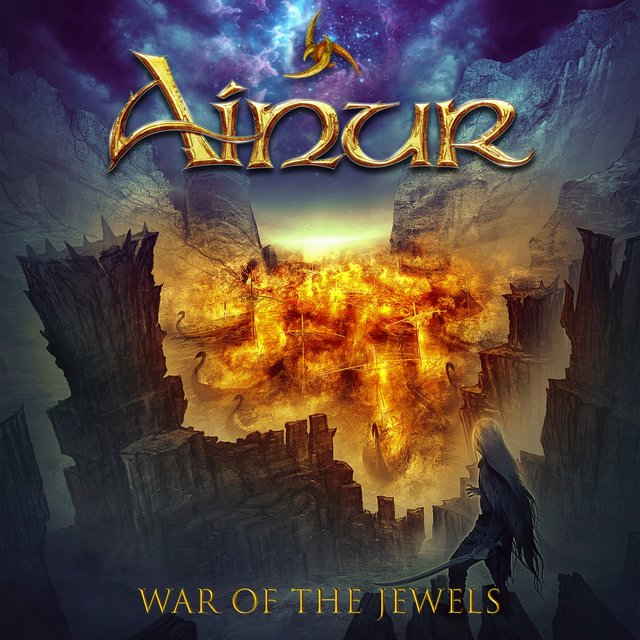 Cover art for album War Of The Jewels by Ainur