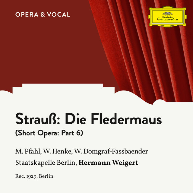 Strauss: Die Fledermaus: Part 6