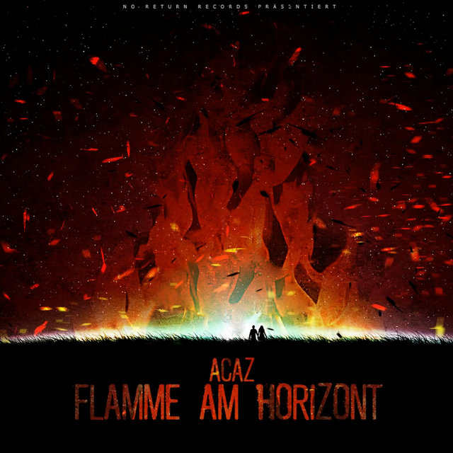 Flamme am Horizont
