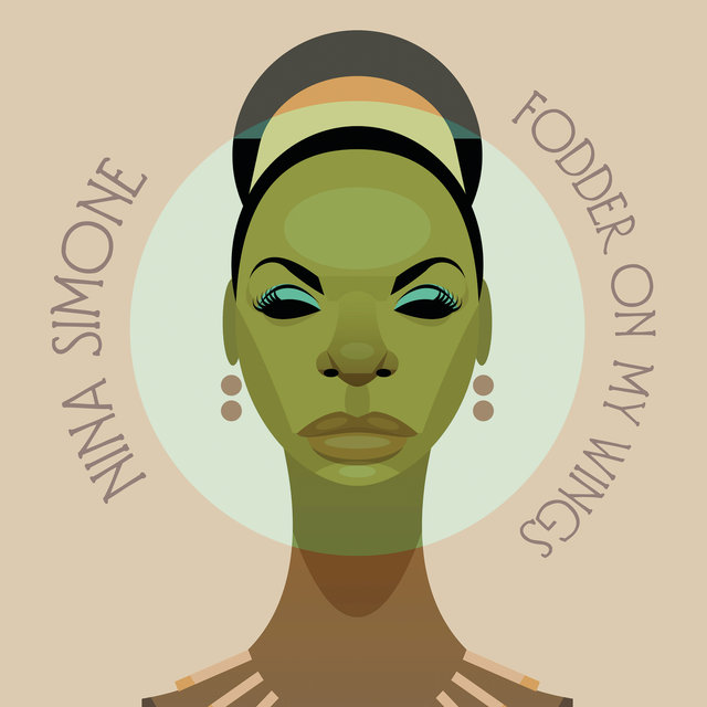 Cover art for album Fodder On My Wings by Nina Simone