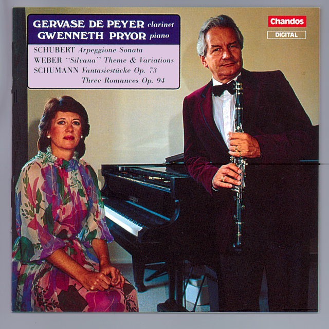Schumann: Fantasiestucke / 3 Romanzen / Schubert: Arpeggione Sonata (Arr. for Clarinet and Piano)