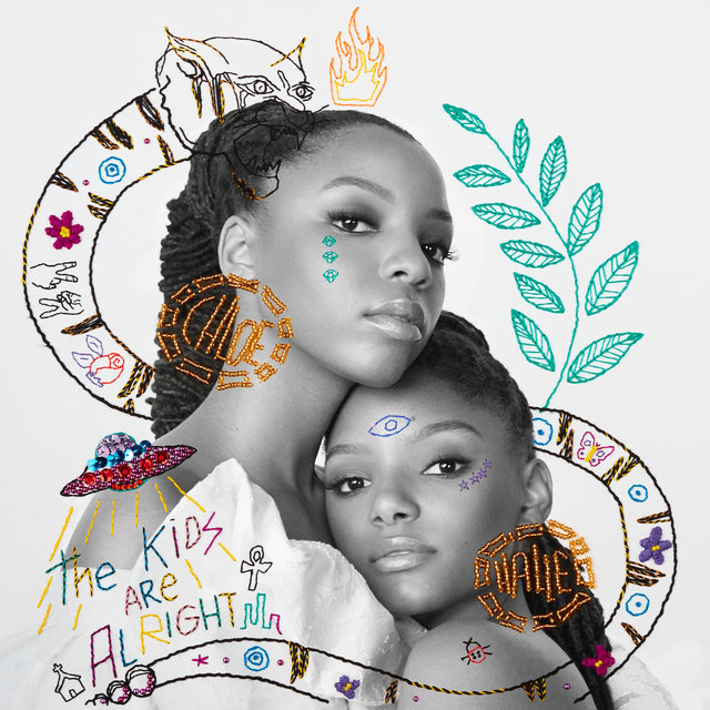 Cover art for album The Kids Are Alright by Chloe x Halle