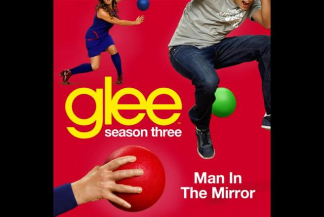 Man In The Mirror (Glee Cast Version) (Cover Image Version)
