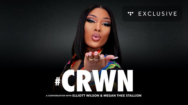 Cover art for album  by CRWN, Megan Thee Stallion