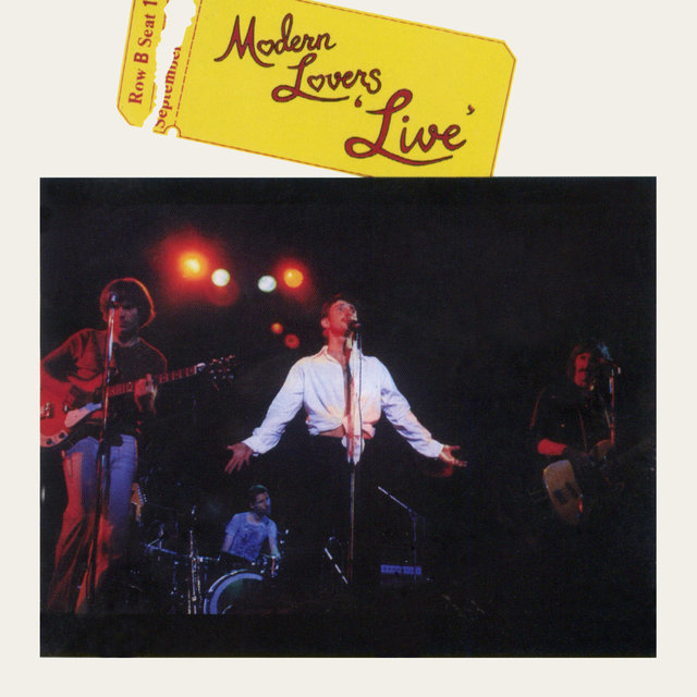 Modern Lovers (Live)