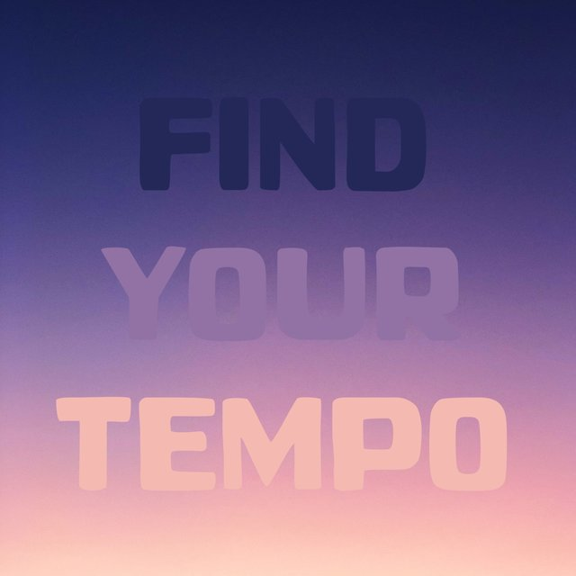 Find Your Tempo