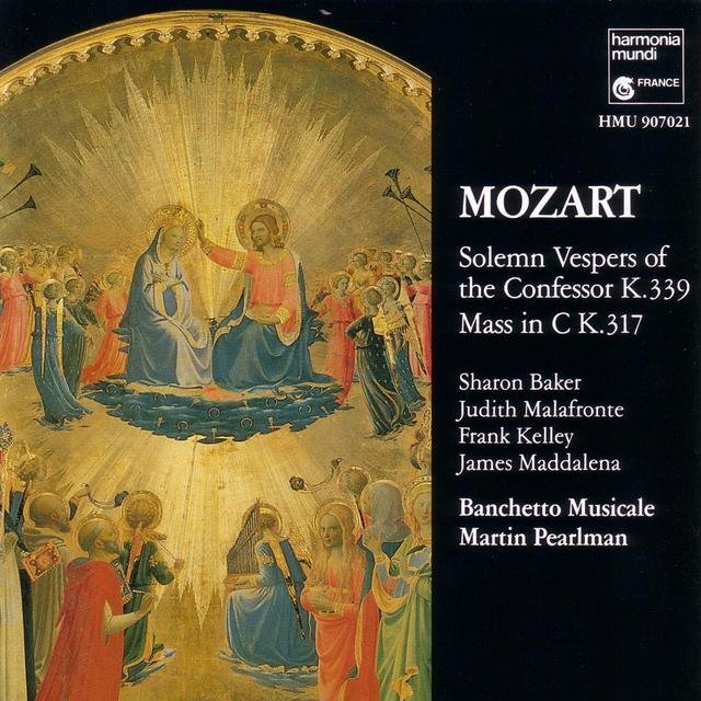 Mozart: Solemn Vespers of the Confessor & Coronation Mass