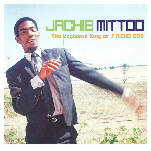 Cover art for album The Keyboard King at Studio One by Jackie Mittoo
