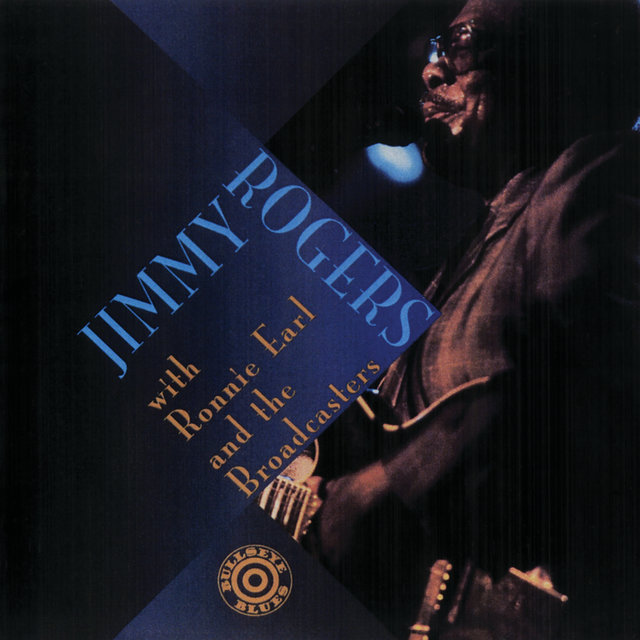 Cover art for album Jimmy Rogers With Ronnie Earl And The Broadcasters (Live) by Jimmy Rogers, Ronnie Earl And The Broadcasters