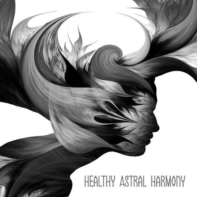 Healthy Astral Harmony – Ambient Therapy Music for Deep Sleep and Relaxation