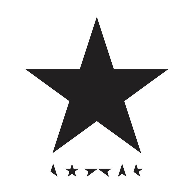 Cover art for album Blackstar by David Bowie