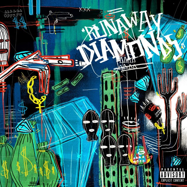 Cover art for album Runaway Diamonds by Abe Linx, Tully C.