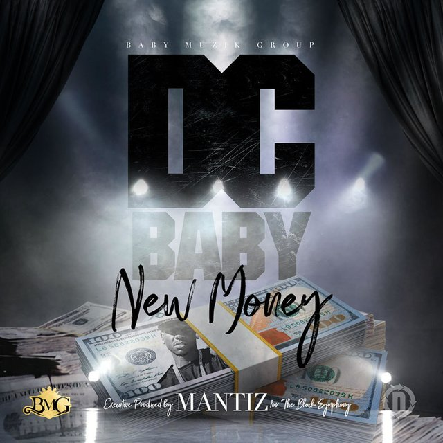 Cover art for album New Money by DC Baby