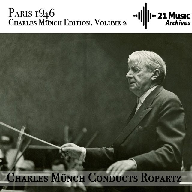 Charles Münch conducts Ropartz