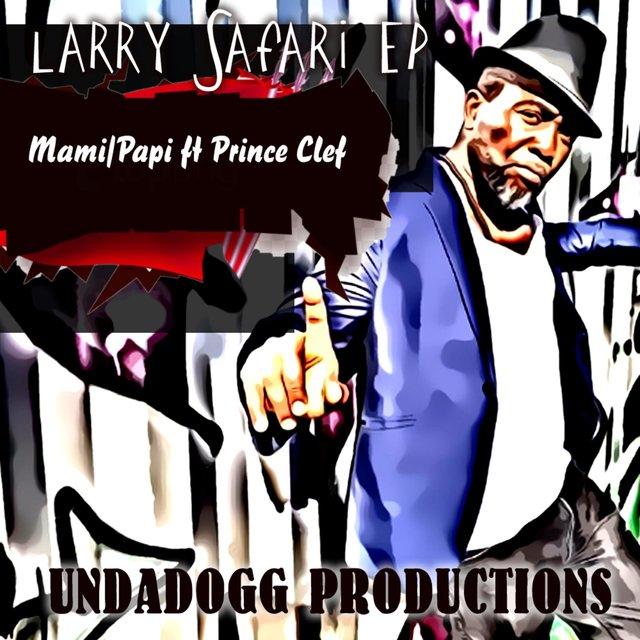Cover art for album Mami/Papi by Larry Safari
