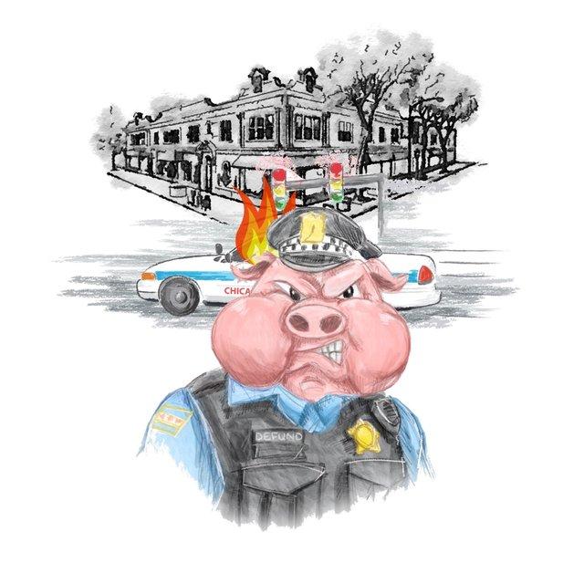 Cover art for album Good Cops Don't Exist by Chris Crack