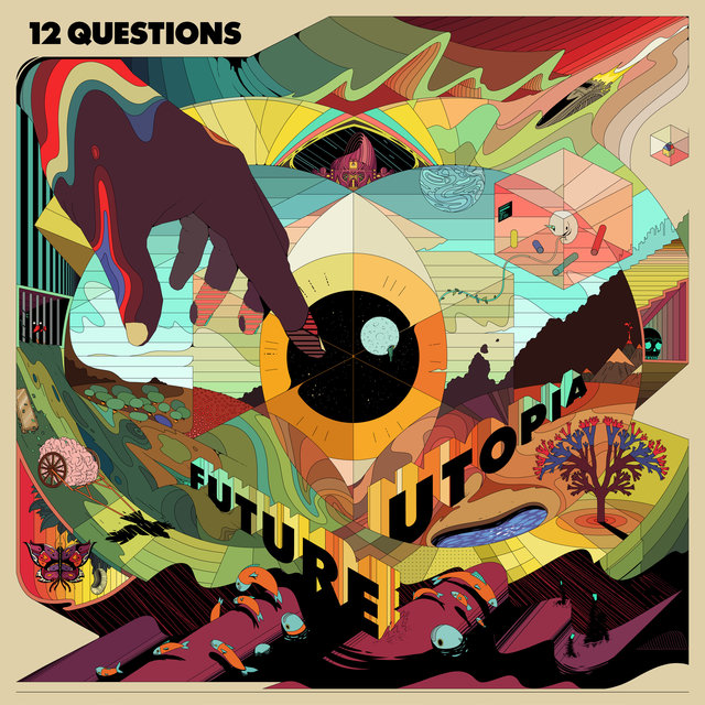 Cover art for album 12 Questions by Future Utopia