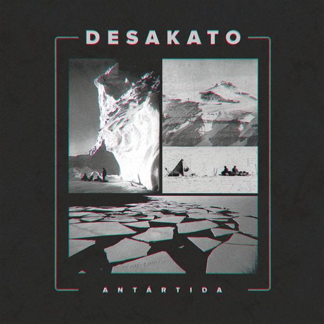Cover art for album Antártida by Desakato