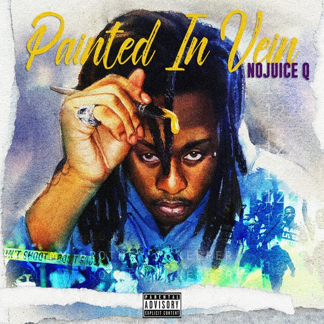 Cover art for album Painted in Vein by NoJuice Q