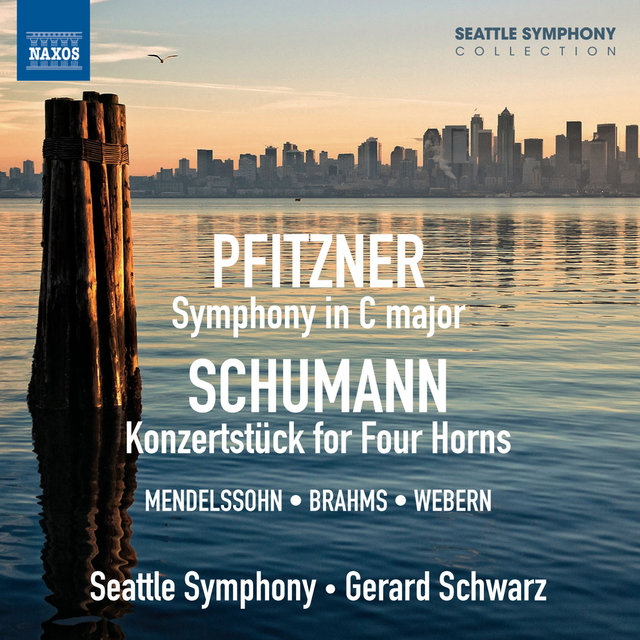 Pfitzner: Symphony in C major - Schumann: Koncertstück for Four Horns