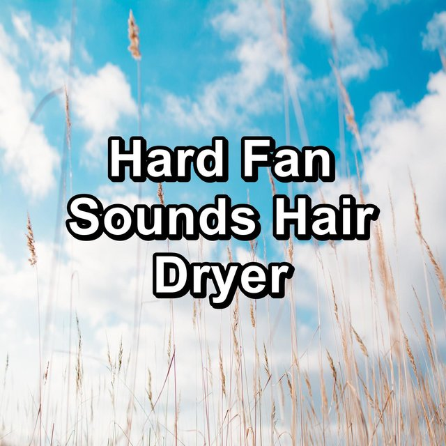 Hard Fan Sounds Hair Dryer