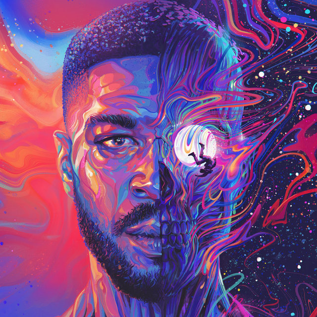 Cover art for album Man On The Moon III: The Chosen by Kid Cudi