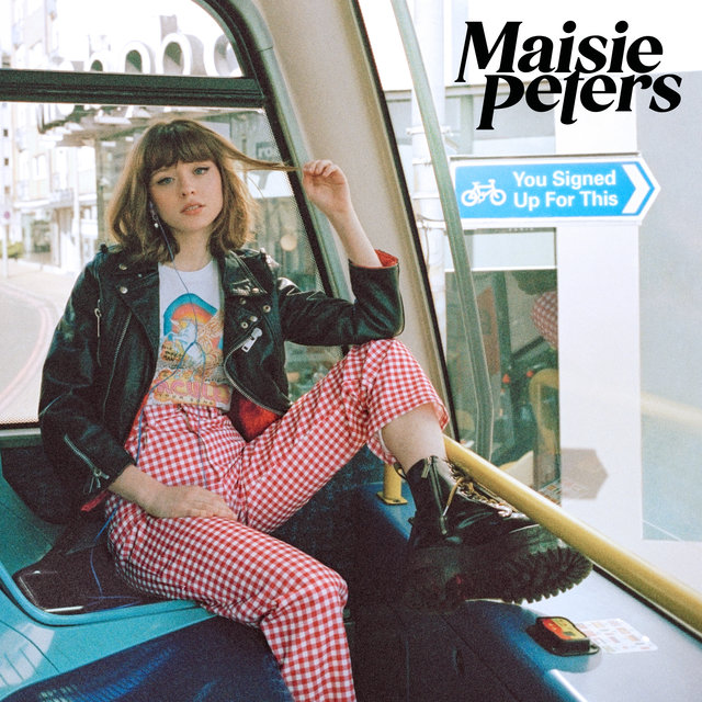 Cover art for album You Signed Up For This by Maisie Peters