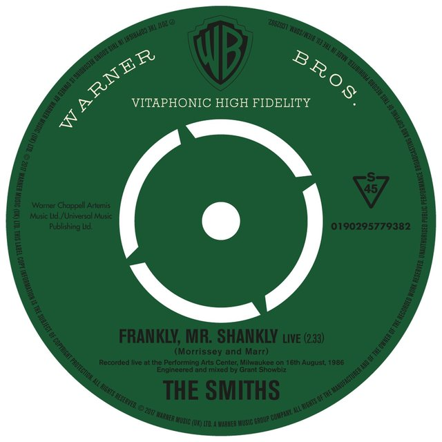 Frankly, Mr. Shankly (Live)