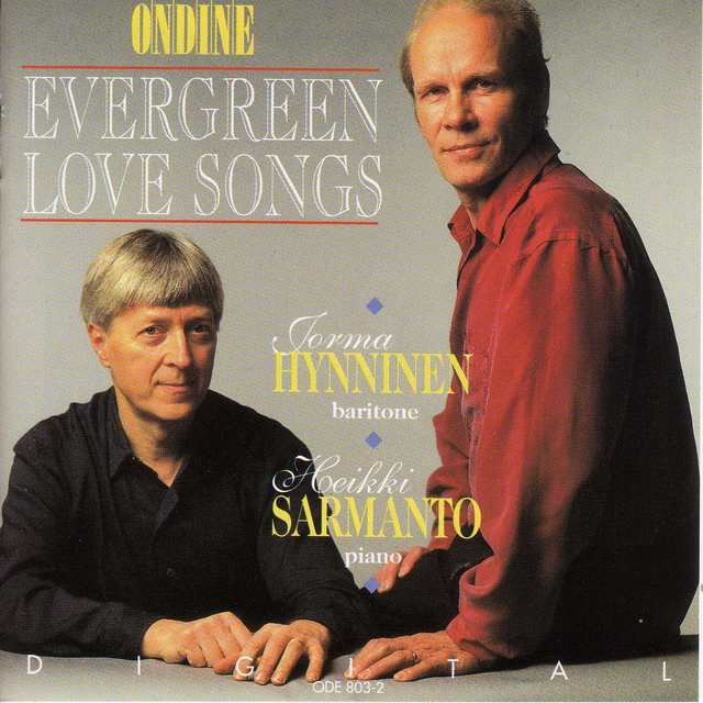 Vocal Recital: Hynninen, Jorma (Evergreen Love Songs)