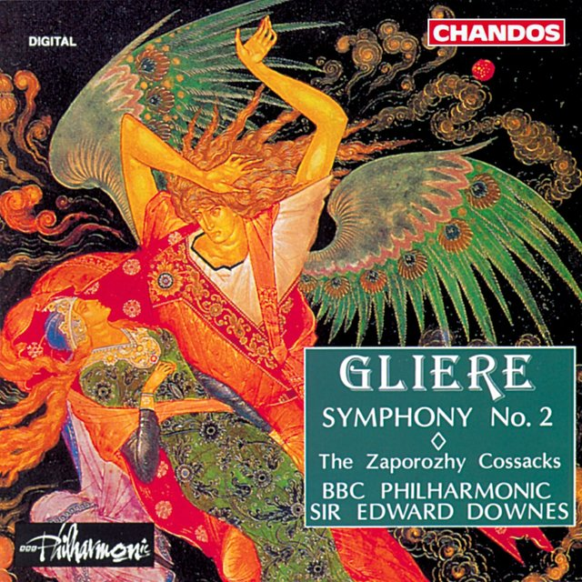Gliere: Symphony No. 2 / The Zaporozhy Cossacks