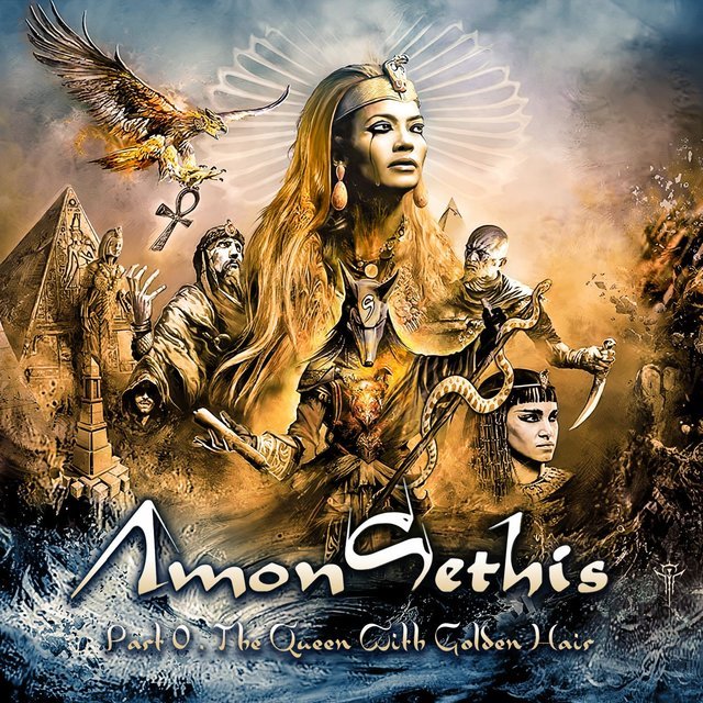 Cover art for album Part 0 : The Queen With Golden Hair by Amon Sethis