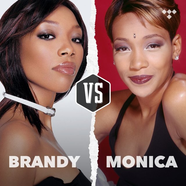 Cover art for album Brandy vs. Monica by TIDAL