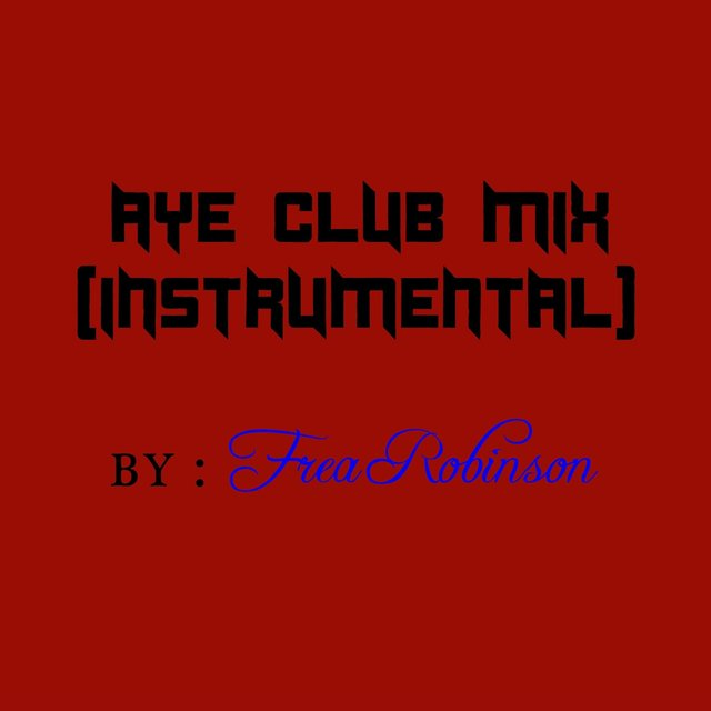 Aye Club Mix