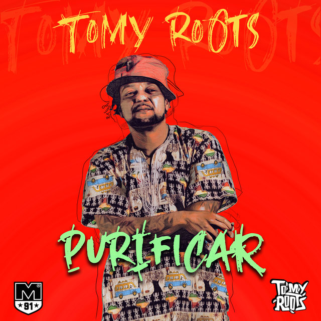 Cover art for album Purificar by Tomy Roots