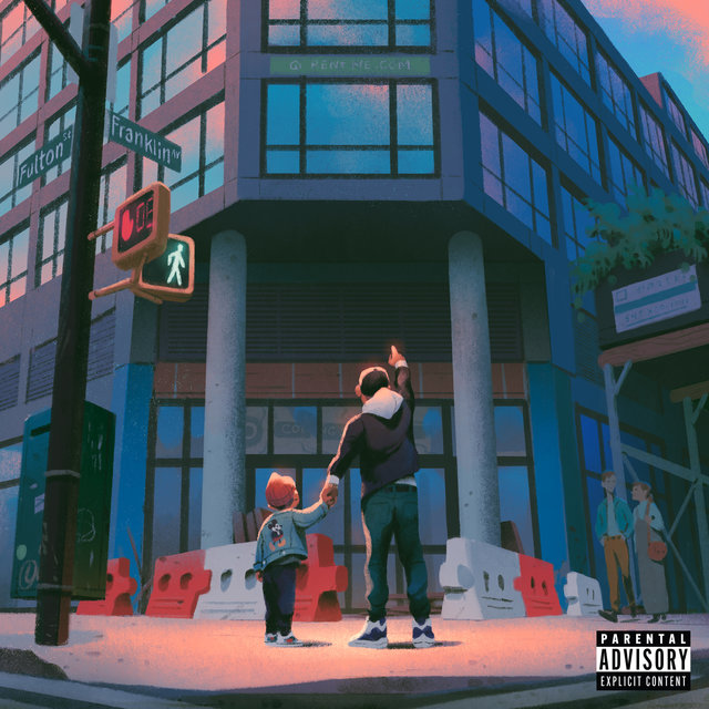 Cover art for album All the Brilliant Things by Skyzoo